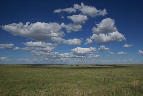 Photograph of sky and clouds across Free State