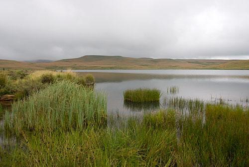 Highmoor cloud and lake