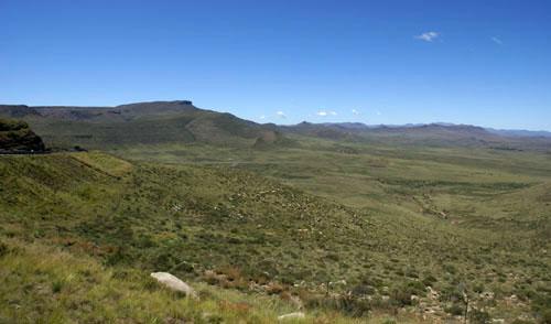 Photograph of Great Escarpment