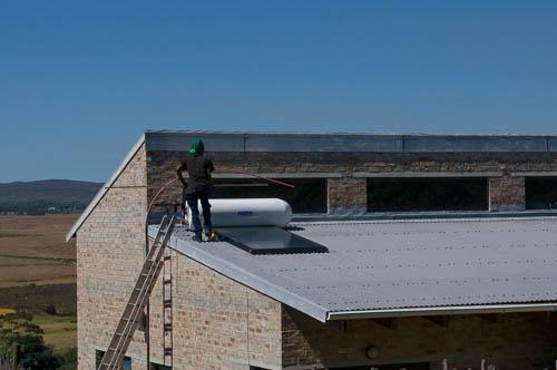 Installing solar hot water
