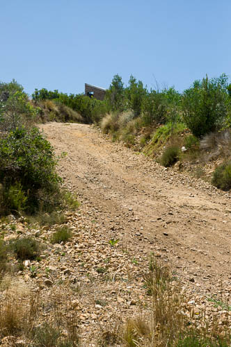 The old road up to Phillipskop self-catering cottages