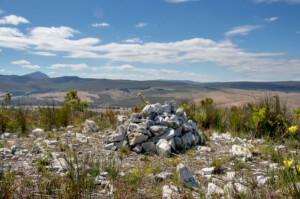 Cairn of Thankfulness at Ebenezer Koppie